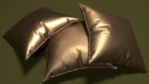 3cushions-plainGold-ish